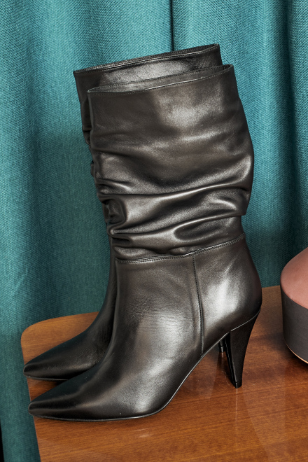 NINE LEATHER - Boots - BLACK