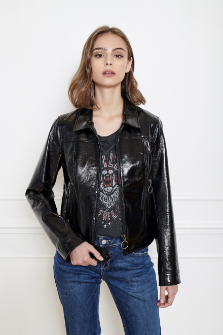 VALISSE  - Jacket - BLACK