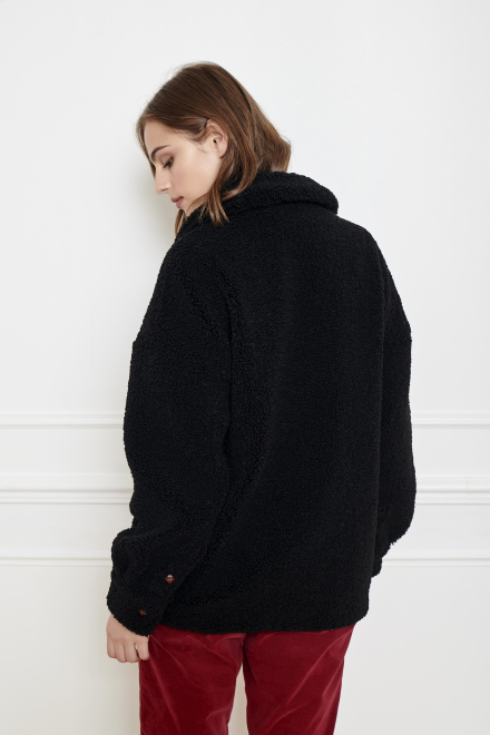 METY - Coat - BLACK