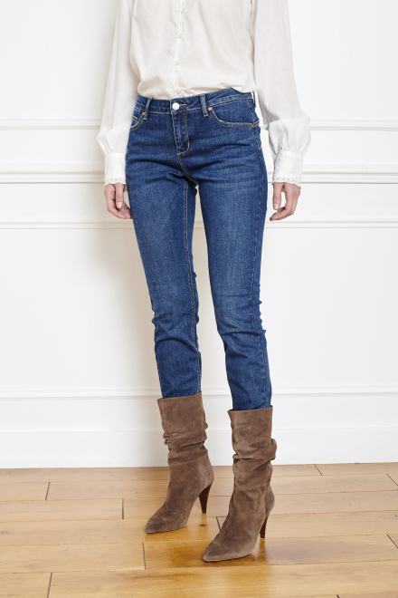 THE BARDOT WILSON - Pants - BLUE-SPENCER WASH