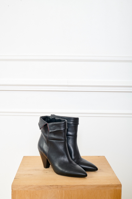 NALIA - Booties - BLACK