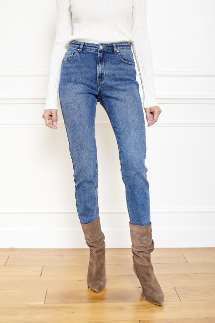 Jeans - THE OSLO ROSES - BLUE - JAGGER WASH