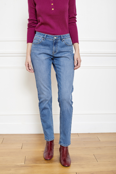 THE PATTI WILSON - Pants - BLUE - RAQUEL WASH