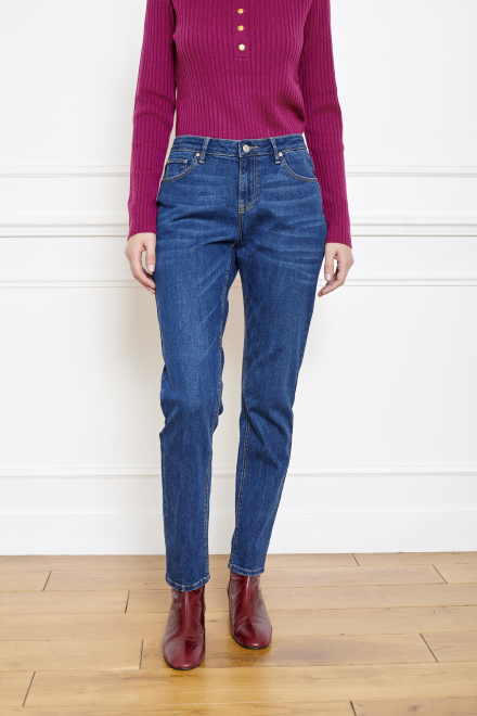 THE PATTI WILSON - Pants - BLUE-SPENCER WASH