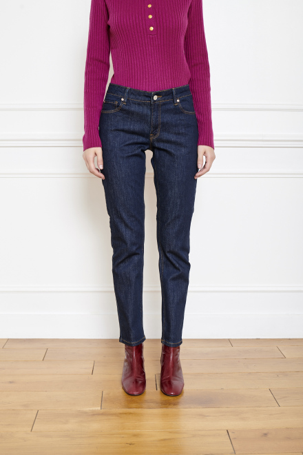 THE PATTI WILSON - Pants - BLUE - SYDNEY WASH